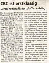 Cronenberger Woche Bericht vom 16.05.2003