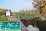 Ecluse Saint Simon- Canal de la Somme