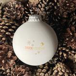 Druckatelier46 - Weihnachtskugeln mit Logo