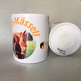 Druckatelier46, Mülchi - Spardose, Kässeli aus Keramik mit Foto oder Logo