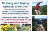 Qi Gong und Poesie in Oranienburg mit Norbert Pietsch und Myriam Jörger