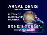 electricien plombier 34260