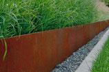 Bordure de jardin en acier Corten JARDIVILLE