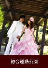 ドレス前撮り ロケ地 総合運動公園