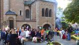 Feier auf dem St. Anna Platz