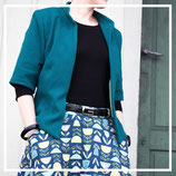 Hollyburn Skirt & Burda Jacke