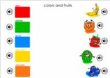 Colors and fruits