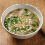 納豆とにらのスープ