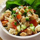 高野豆腐のちらしサラダ