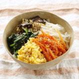 野菜ナムルのっけご飯