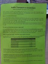 ÖPNV-Info des Campingplatzes