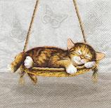 Servilletas para decoupage decoradas con gatos