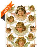Cromos de ángeles