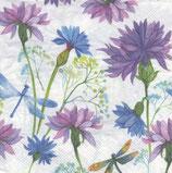 Servilletas para decoupage con mariposas, libélulas, mariquitas...