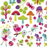 Papel scrap temática infantil ideal para tus creacions de scrapbooking