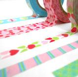 Cintas Washi Tape y de tela para decorar tus trabajos de scrap