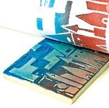 Todo el material necesario para realizar tus propios sellos para estampar
