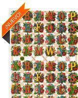 Cromos con letras y números