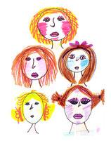 Individuelle Gesichtsformen