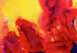 GEBURT   Acryl / Lwd. 70 x 100 cm