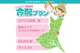 【合配×ケアハウス】 エリア:ひたちなか市内指定エリア /部数:22,000部/サイズ:A4