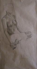 Nude study, live-size,2012