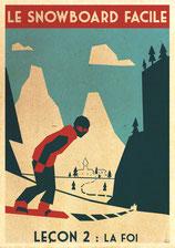snowboard leçon du 22/02/18 la foi