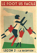 football Américain leçon du 01/02/18 la reception