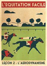 l'équitation leçon du 26/04/18 l' aerodynamisme