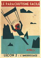 parachute leçon du 05/04/18 l'amerrissage