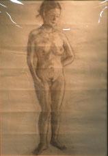 裸婦 素描B2