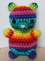 Amigurumi Häkelanleitung Flowerpowbär Teddy