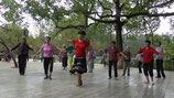 Chorégraphie au parc Cuihu
