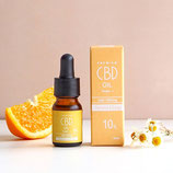 CBDオイル 濃度10% カモミールオレンジフレーバー