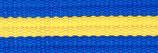 スウェーデン(青x黄x青)