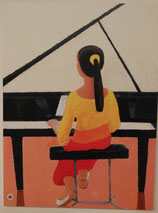 20 Die kleine Pianistin