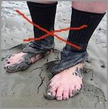 Dicke Socken (gewesen)