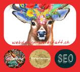 Plakat Webdesign-Werkstatt by Hirschfrau