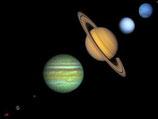 zet de planeten op de juiste plaats