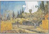 Van Gogh puzzel (stukjes draaien)