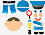 aankleedspel politieman