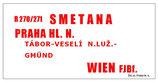 Rychlik D-Zug Schnellzug Smetana Wien Praha 1996