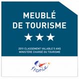 L'Aristide est classé meublé de tourisme 3*