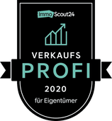 Siegel ImmoScout24-Verkaufsprofi 2020