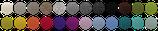 Farbmuster, Schlüsselbrett, Alu Designleiste, swissmade, handmade, Schweiz, Schlüsselaufbewahrung, Ordnung, Schlüssel, Designfilz, Dekoration, Garderobe, Flur, Interior