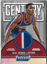 ISIAH THOMAS / Century Collection Materials - No. 7  (#d 5/10)