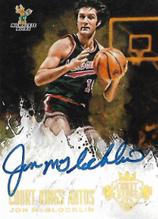 JON McGLOCKLIN / Court Kings Auto - No. 42  (#d 4/10)