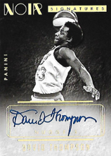 DAVID THOMPSON / Noir Signatures - No. NBW-DT  (#d 3/5)