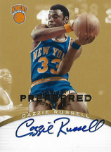 CAZZIE RUSSELL / Preferred Signatures - No. 118  (#d 8/10)