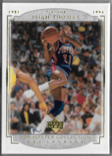 ISIAH THOMAS / The Master Collection - No. 16  (#d 100/200)